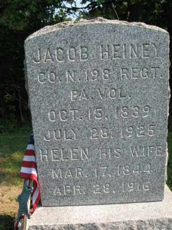 HEINEY (CW), JACOB - Monroe County, Pennsylvania | JACOB HEINEY (CW) - Pennsylvania Gravestone Photos