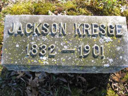KRESGE, JACKSON - Monroe County, Pennsylvania | JACKSON KRESGE - Pennsylvania Gravestone Photos