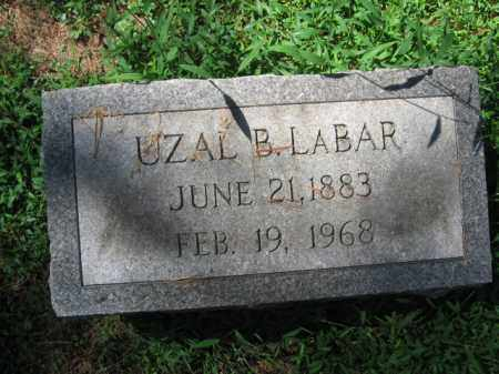 LABAR, UZAL B. - Monroe County, Pennsylvania | UZAL B. LABAR - Pennsylvania Gravestone Photos