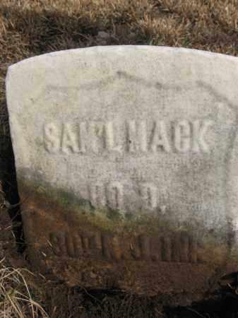 MACK  (CW), SAMUEL - Monroe County, Pennsylvania   SAMUEL MACK  (CW) - Pennsylvania Gravestone Photos