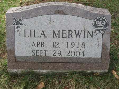 MERWIN, LILA - Monroe County, Pennsylvania | LILA MERWIN - Pennsylvania Gravestone Photos