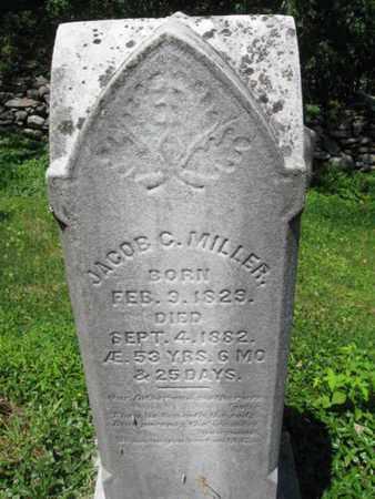 MILLER, JACOB C. - Monroe County, Pennsylvania | JACOB C. MILLER - Pennsylvania Gravestone Photos