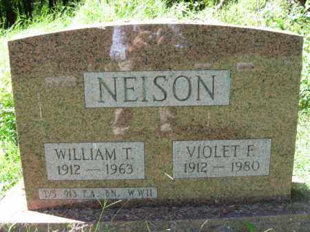 NEISON, WILLIAM T. - Monroe County, Pennsylvania | WILLIAM T. NEISON - Pennsylvania Gravestone Photos