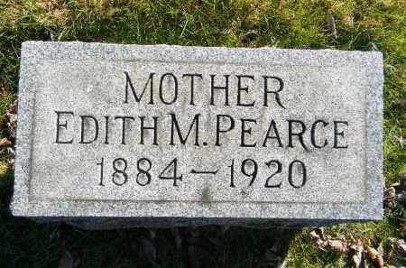 PEARCE, EDITH M. - Monroe County, Pennsylvania   EDITH M. PEARCE - Pennsylvania Gravestone Photos