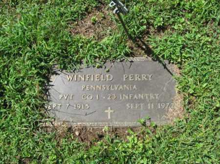 PERRY, WINFIELD - Monroe County, Pennsylvania | WINFIELD PERRY - Pennsylvania Gravestone Photos