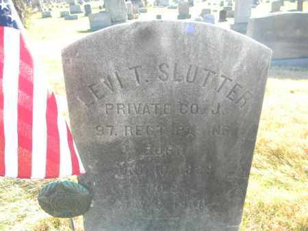 SLUTTER (CW), LEVI T. - Monroe County, Pennsylvania   LEVI T. SLUTTER (CW) - Pennsylvania Gravestone Photos