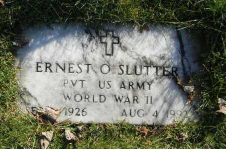 SLUTTER (WW II), ERNEST O. - Monroe County, Pennsylvania | ERNEST O. SLUTTER (WW II) - Pennsylvania Gravestone Photos