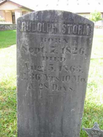 STORM, RUDOLPH - Monroe County, Pennsylvania | RUDOLPH STORM - Pennsylvania Gravestone Photos