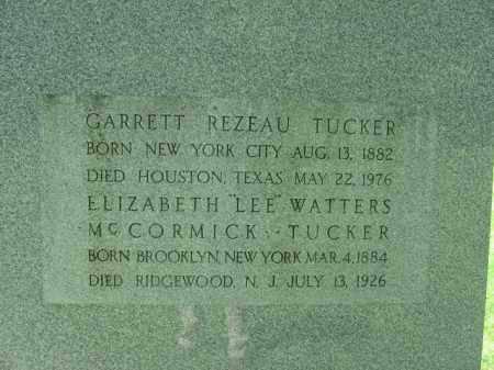 TUCKER, ELIZABETH WATTERS MCCORMICK - Monroe County, Pennsylvania | ELIZABETH WATTERS MCCORMICK TUCKER - Pennsylvania Gravestone Photos