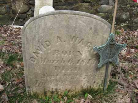 WAGNER (CW), DAVID A. - Monroe County, Pennsylvania | DAVID A. WAGNER (CW) - Pennsylvania Gravestone Photos