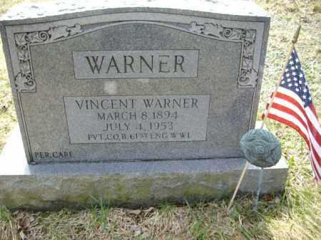 WARNER, VINCENT - Monroe County, Pennsylvania   VINCENT WARNER - Pennsylvania Gravestone Photos