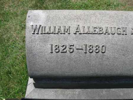 ALLEBAUGH (CW), WILLIAM - Montgomery County, Pennsylvania | WILLIAM ALLEBAUGH (CW) - Pennsylvania Gravestone Photos