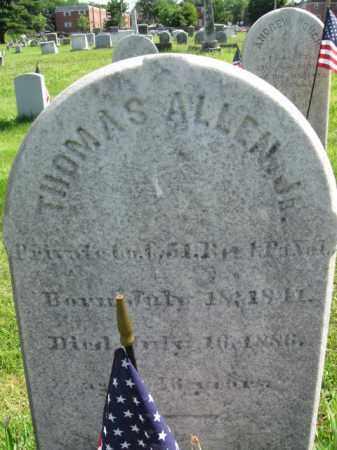 ALLEN,JR. (CW), THOMAS - Montgomery County, Pennsylvania | THOMAS ALLEN,JR. (CW) - Pennsylvania Gravestone Photos