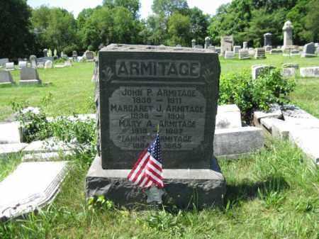 ARMITAGE (CW), JOHN P. - Montgomery County, Pennsylvania | JOHN P. ARMITAGE (CW) - Pennsylvania Gravestone Photos