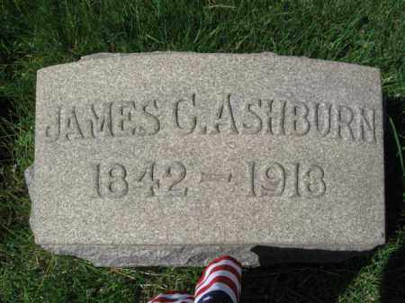 ASHBURN (CW), JAMES C. - Montgomery County, Pennsylvania | JAMES C. ASHBURN (CW) - Pennsylvania Gravestone Photos