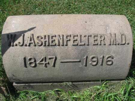 ASHENFELTER (CW), WILLIAM J. - Montgomery County, Pennsylvania | WILLIAM J. ASHENFELTER (CW) - Pennsylvania Gravestone Photos