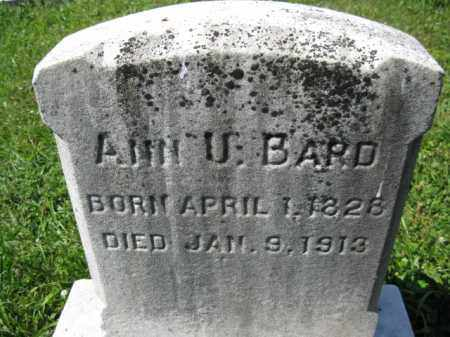 BARD, ANN  U. - Montgomery County, Pennsylvania | ANN  U. BARD - Pennsylvania Gravestone Photos
