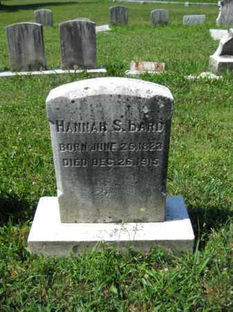 BARD, HANNAH S. - Montgomery County, Pennsylvania | HANNAH S. BARD - Pennsylvania Gravestone Photos