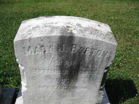 BARTON, MARY J. - Montgomery County, Pennsylvania | MARY J. BARTON - Pennsylvania Gravestone Photos