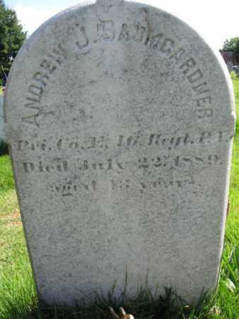 BAUMGARDNER (CW), ANDREW J. - Montgomery County, Pennsylvania | ANDREW J. BAUMGARDNER (CW) - Pennsylvania Gravestone Photos