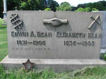 BEAN (CW), EDWIN A. - Montgomery County, Pennsylvania | EDWIN A. BEAN (CW) - Pennsylvania Gravestone Photos