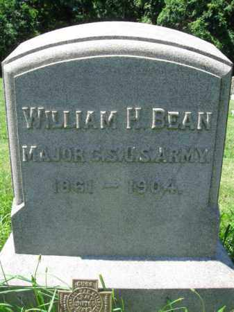 BEAN (SAW), WILLIAM H. - Montgomery County, Pennsylvania | WILLIAM H. BEAN (SAW) - Pennsylvania Gravestone Photos