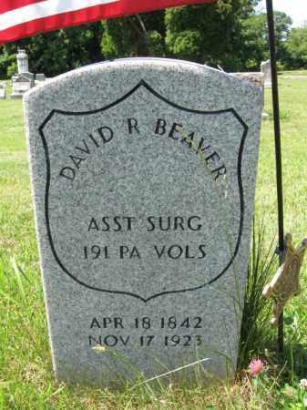 BEAVER (CW), DAVID R. - Montgomery County, Pennsylvania | DAVID R. BEAVER (CW) - Pennsylvania Gravestone Photos