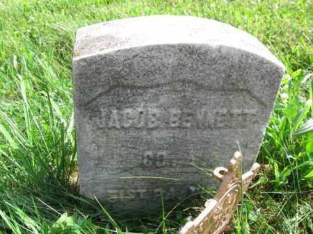 BENNETT, JACOB - Montgomery County, Pennsylvania | JACOB BENNETT - Pennsylvania Gravestone Photos