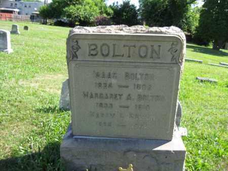 BOLTON (BOLTEN) (CW), ISAAC - Montgomery County, Pennsylvania | ISAAC BOLTON (BOLTEN) (CW) - Pennsylvania Gravestone Photos
