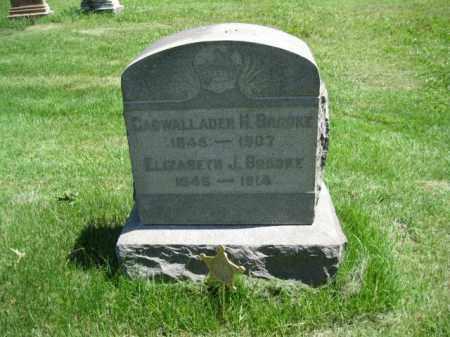 BROOKE (CW), CADWALLADER H. - Montgomery County, Pennsylvania | CADWALLADER H. BROOKE (CW) - Pennsylvania Gravestone Photos
