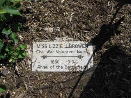 BROWER (CW), LIZZIE J. - Montgomery County, Pennsylvania   LIZZIE J. BROWER (CW) - Pennsylvania Gravestone Photos
