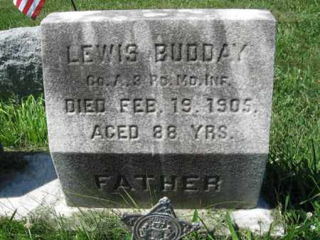 BUDDAY (CW), LEWIS - Montgomery County, Pennsylvania | LEWIS BUDDAY (CW) - Pennsylvania Gravestone Photos