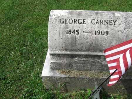 CARNEY, GEORGE - Montgomery County, Pennsylvania   GEORGE CARNEY - Pennsylvania Gravestone Photos