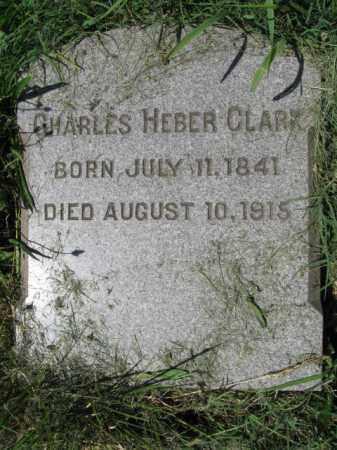 CLARK, CHARLES HEBER - Montgomery County, Pennsylvania   CHARLES HEBER CLARK - Pennsylvania Gravestone Photos
