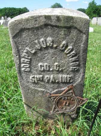 CORNOG (CW), JOSEPH - Montgomery County, Pennsylvania | JOSEPH CORNOG (CW) - Pennsylvania Gravestone Photos