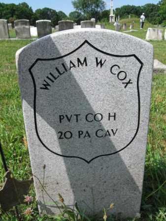 COX (CW), WILLIAM W. - Montgomery County, Pennsylvania | WILLIAM W. COX (CW) - Pennsylvania Gravestone Photos