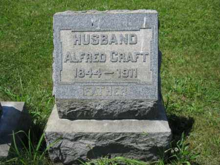 CRAFT, ALFRED - Montgomery County, Pennsylvania | ALFRED CRAFT - Pennsylvania Gravestone Photos