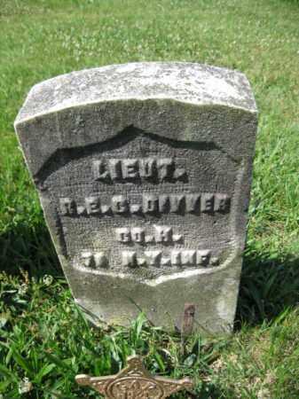 DIVVER (CW), ROBERT E.C. - Montgomery County, Pennsylvania | ROBERT E.C. DIVVER (CW) - Pennsylvania Gravestone Photos