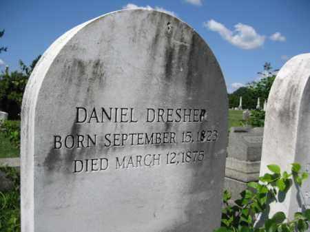 DRESHER, DANIEL - Montgomery County, Pennsylvania | DANIEL DRESHER - Pennsylvania Gravestone Photos