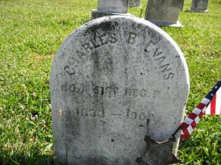 EVANS (CW), CHARLES B. - Montgomery County, Pennsylvania   CHARLES B. EVANS (CW) - Pennsylvania Gravestone Photos