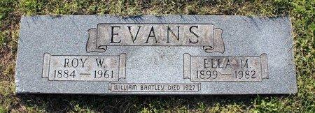EVANS, ROY W. - Montgomery County, Pennsylvania | ROY W. EVANS - Pennsylvania Gravestone Photos