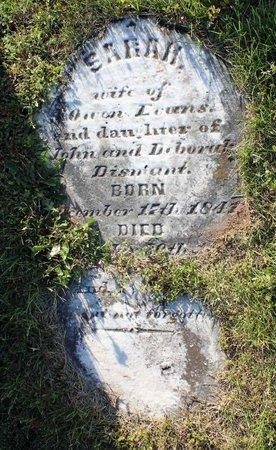 EVANS, SARAH - Montgomery County, Pennsylvania   SARAH EVANS - Pennsylvania Gravestone Photos