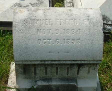 FREEDLEY (CW), SAMUEL - Montgomery County, Pennsylvania | SAMUEL FREEDLEY (CW) - Pennsylvania Gravestone Photos