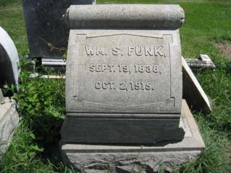 FUNK, WILLIAM S. - Montgomery County, Pennsylvania | WILLIAM S. FUNK - Pennsylvania Gravestone Photos