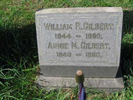 GILBERT, WILLIAM R. - Montgomery County, Pennsylvania | WILLIAM R. GILBERT - Pennsylvania Gravestone Photos