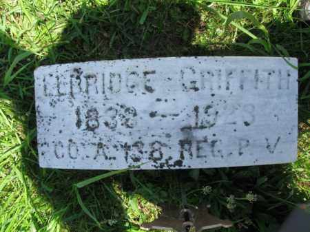 GRIFFITH (CW), ELBRIDGE - Montgomery County, Pennsylvania | ELBRIDGE GRIFFITH (CW) - Pennsylvania Gravestone Photos