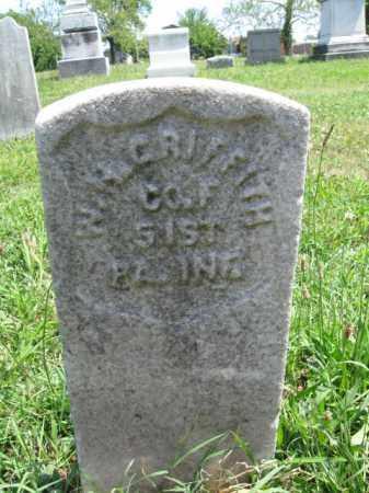GRIFFITH (CW), WASHINGTON IRVING - Montgomery County, Pennsylvania | WASHINGTON IRVING GRIFFITH (CW) - Pennsylvania Gravestone Photos
