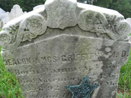 GRIFFITHS, DEACON AMOS - Montgomery County, Pennsylvania | DEACON AMOS GRIFFITHS - Pennsylvania Gravestone Photos