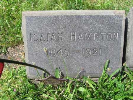HAMPTON (CW), ISAIAH - Montgomery County, Pennsylvania | ISAIAH HAMPTON (CW) - Pennsylvania Gravestone Photos