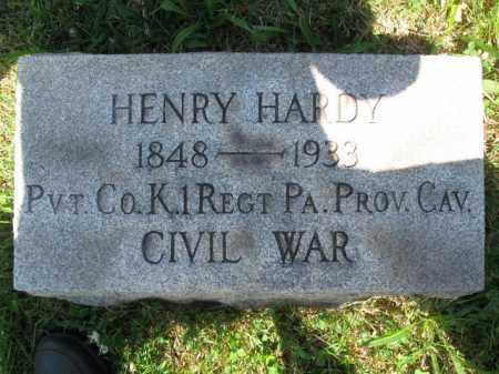 HARDY (CW), HENRY - Montgomery County, Pennsylvania | HENRY HARDY (CW) - Pennsylvania Gravestone Photos